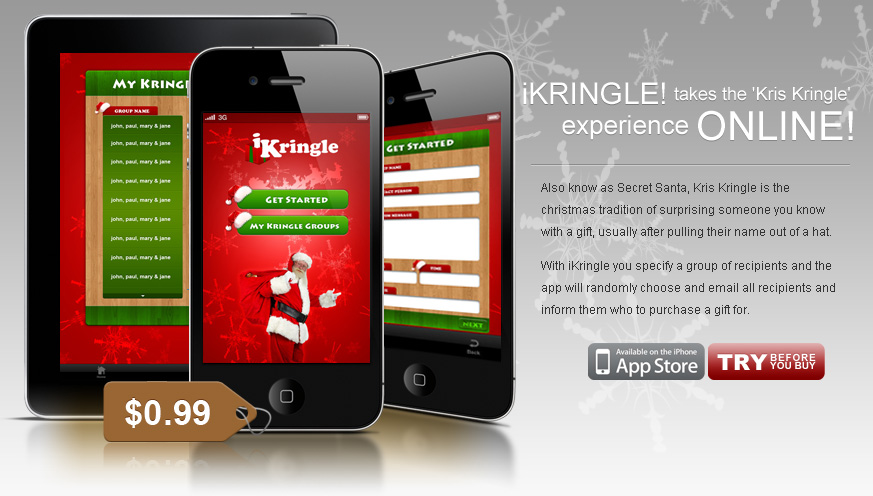 iKringle iPhone & iPad Application